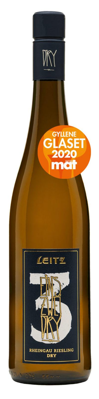 Leitz Eins Zwei Dry - Gyllene Glaset 2020