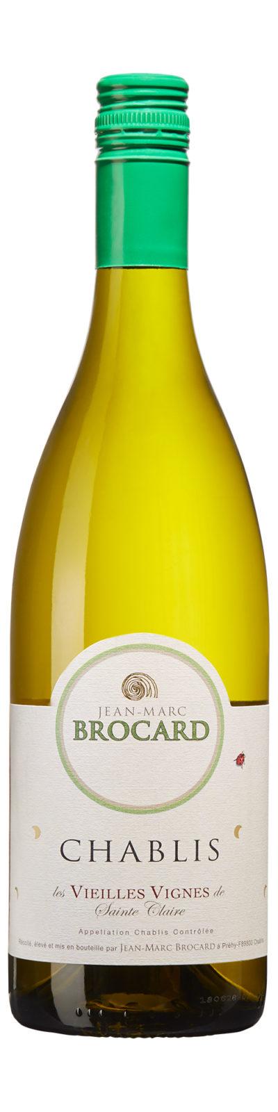 Chablis Sainte Claire Vieilles Vignes - smakrikt vitt vin