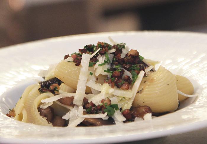 Pasta ai Funghi Toscana