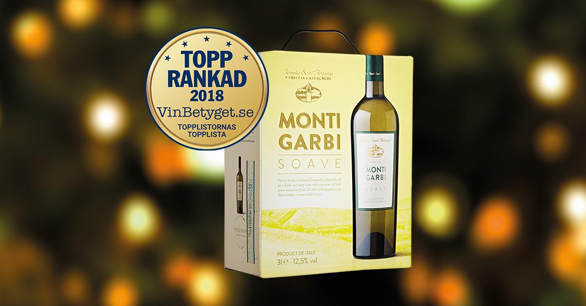 Bästa vita boxen Monti Garbi Soave